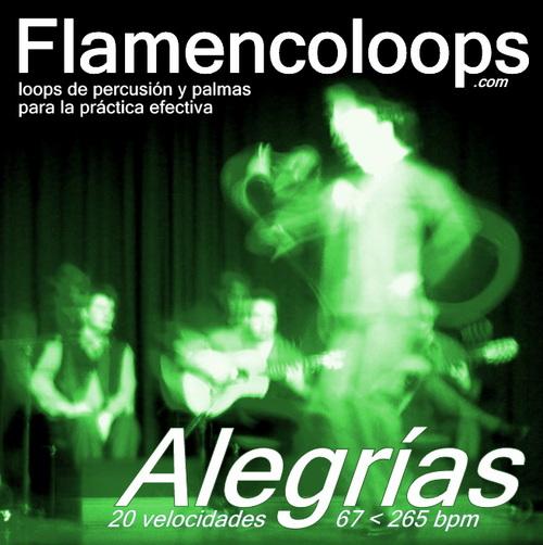 Product picture Flamencoloops.com - Alegrías