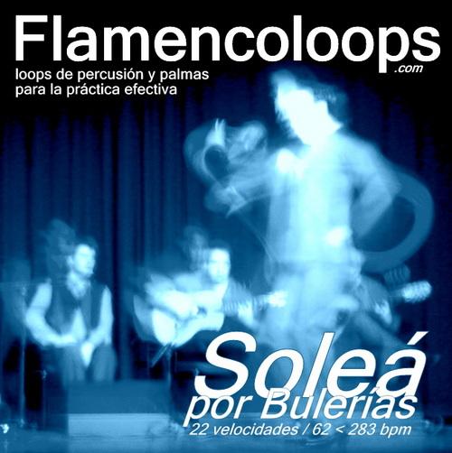 Product picture flamencoloops.com - Soleá por Bulerías